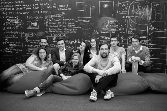 Meine Arbeit: Zum Beispiel Co-Organisator des Digitalen Prototypenlabors Burda Bootcamp (Foto: Hubert Burda Media)
