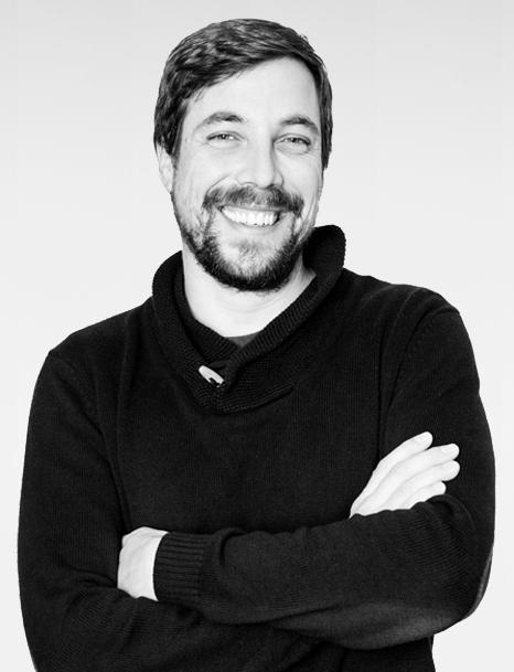 Maximilian Gaub: Vater, Schlauchtbootfahrer, Autor, Medienmarkenmacher, Dozent, Learning Designer. (Foto: Hubert Burda Media)