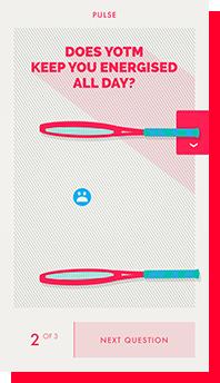 Pulseapp: Schnelle, interaktive Umfragen, um das Bauchgefühl abzutasten. (Foto: Pulseapp)